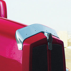Kenworth T600 stainless steel hoodshield bug deflector