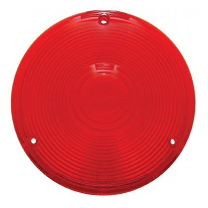 Plastic 3 screw lens for rear sleeper utility lights - Red