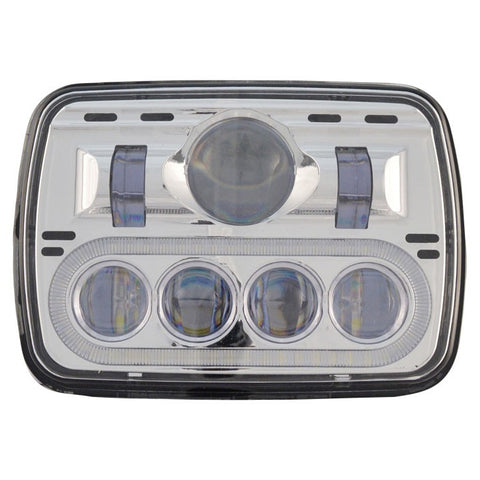 "5"" x 7"" rectangular LED headlight - 895 lumens"