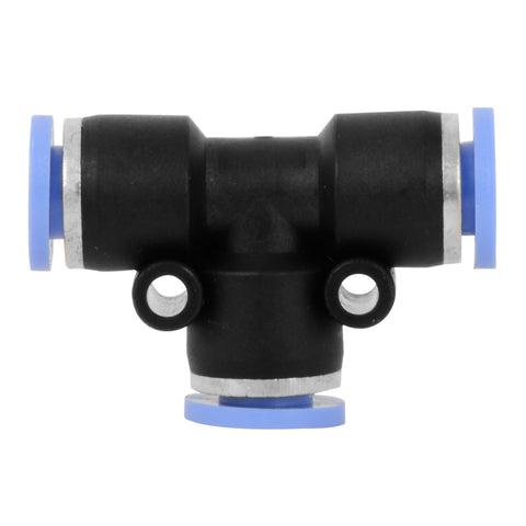 "1/4"" plastic T quick connector fitting - SINGLE"