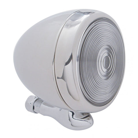 Dummy spot light with stainless steel housing - teardrop style