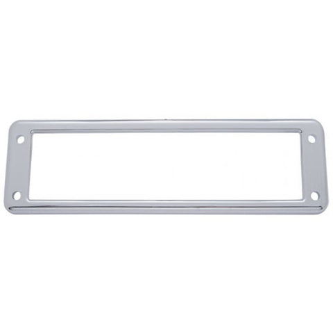 International chrome plastic overhead pocket bezel