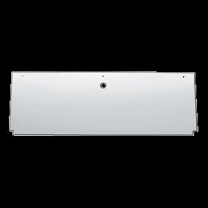 "12"" stainless steel rear center panel back"