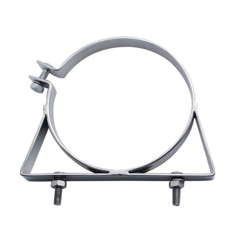 "Kenworth/Freightliner stainless steel exhaust mounting clamp - 7"" diameter"