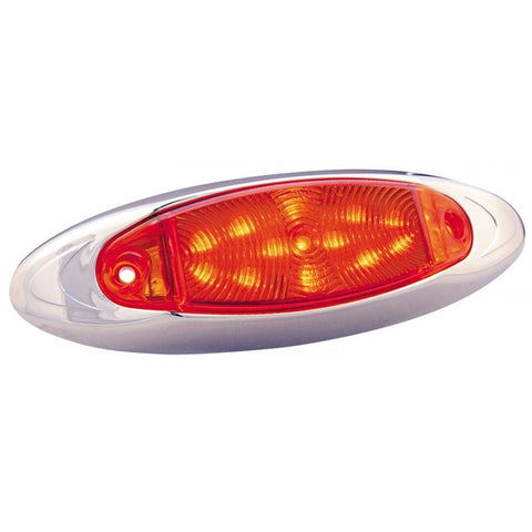 """Infinity"" Red 13 diode LED marker/clearance light"