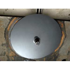 "Minimizer ""Slick Disk"" protective 5th wheel plate - replaces need for grease"