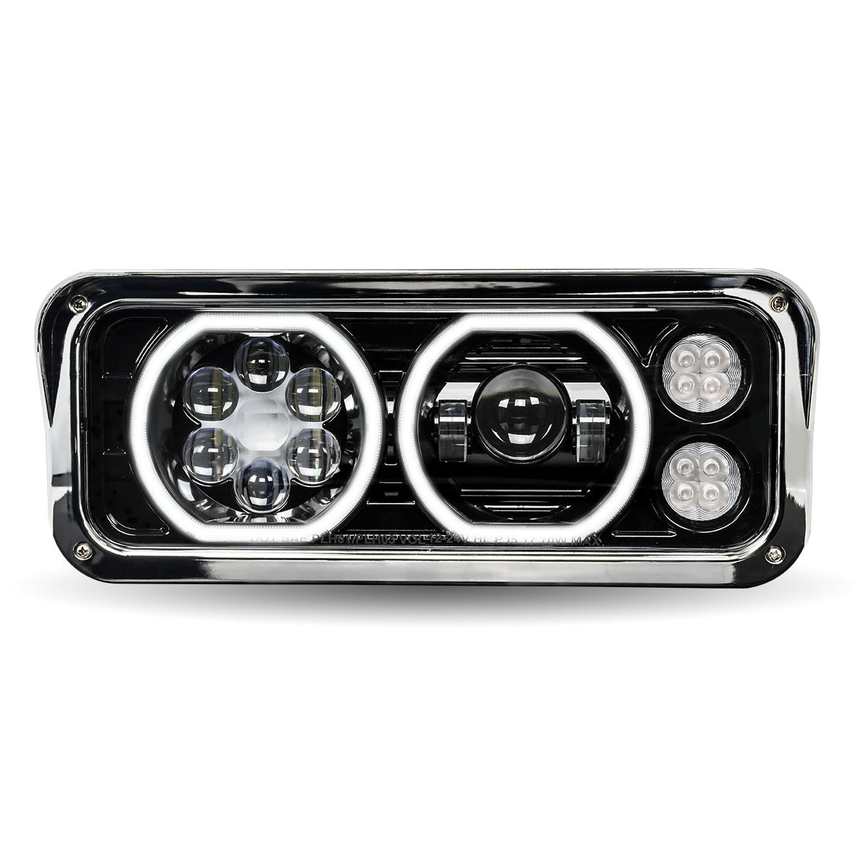 "4"" x 6"" Dual Rectangular Headlights"