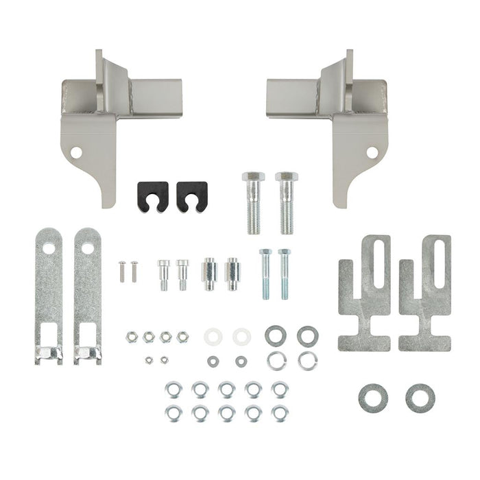 Mounting kit for universal stainless steel grill guard