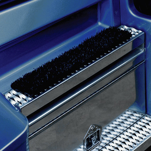 "Sym-mat 24"" black truck door mat w/cable ties"