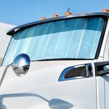 Kenworth T680 reflective cooling window shade