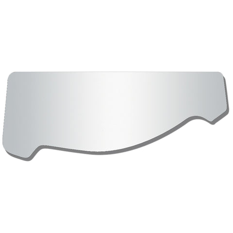 Peterbilt 389 stainless steel side dash trim - passenger's side