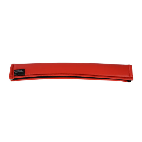 "17"" matte red vinyl gear shift cover - no boot flare"