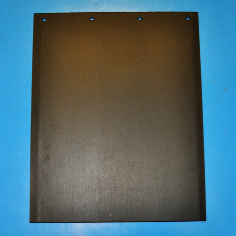 "Black 24"" x 30"" extra-thick poly-rubber blend mudflap - SINGLE"