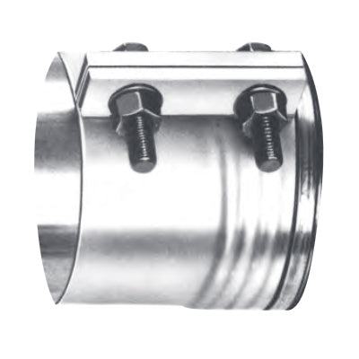 "Dynaflex stainless steel ""tru-seal"" exhaust band clamp - 8"" diameter"