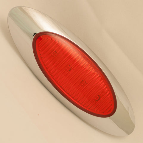 M1 Generation Red 4 diode LED millennium-style marker light