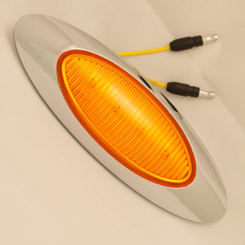 M1 Generation Amber 4 diode LED millennium-style marker light