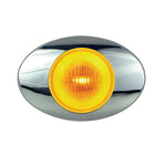M3 Amber Halo Glow mini-oval LED marker light
