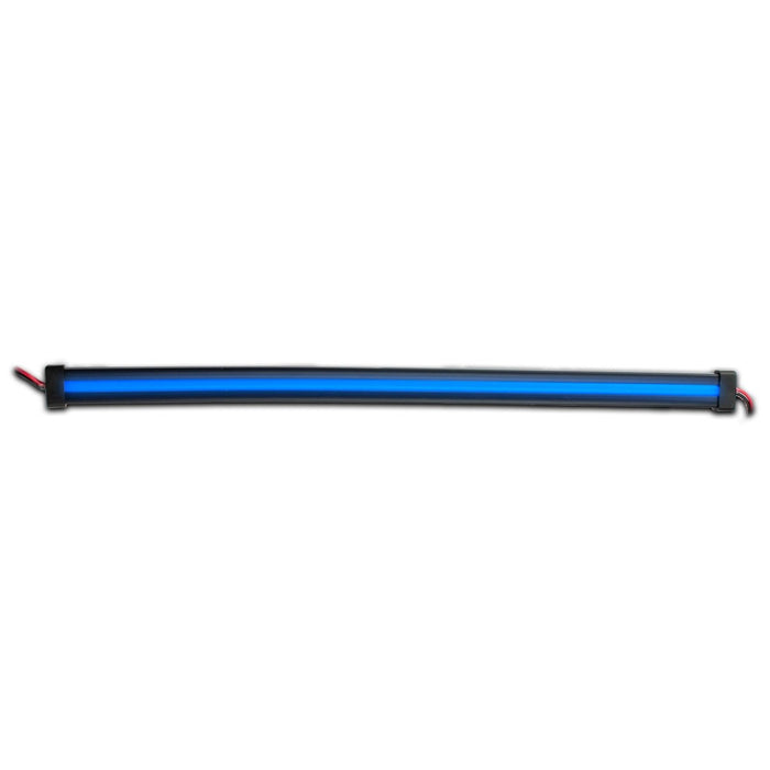 "Blue LED glow strip light - Center Shine - 12"" length"