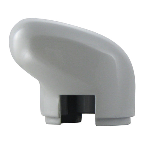 """Classic White"" plastic gear shift knob for Eaton Fuller transmissions"
