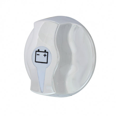Freightliner chrome plastic battery disconnect knob - fits various models