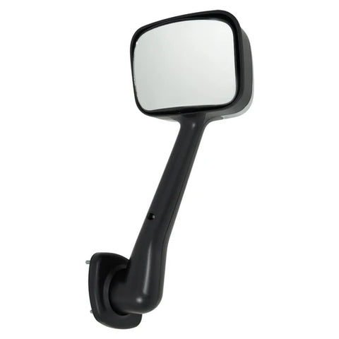 Freightliner Cascadia hood mirror with mounting bracket - SINGLE