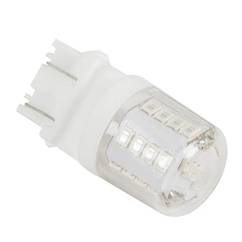 #3157 White 27 diode w/ceramic tower LED light bulbs - PAIR