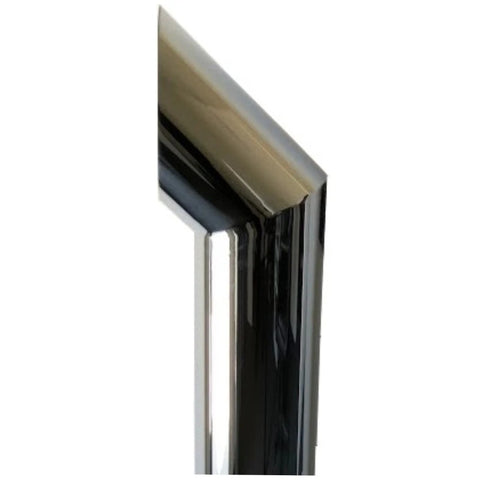 "Chino 60"" chrome exhaust stack - 6"" diameter reduced to 5"" - SINGLE"