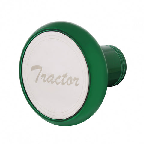 """Emerald Green"" Tractor/Trailer screw-on air brake knob"