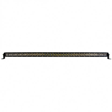 "White 42"" single-row high-powered 40 diode LED light bar"