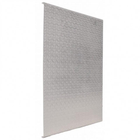 "48"" aluminum diamond plate catwalk cover/deck plate"