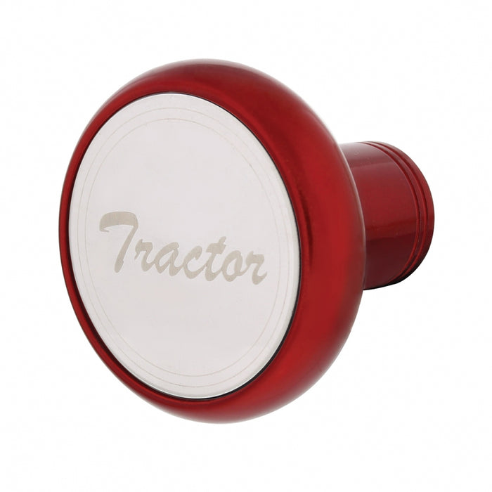 """Candy Red"" Tractor/Trailer screw-on air brake knob"