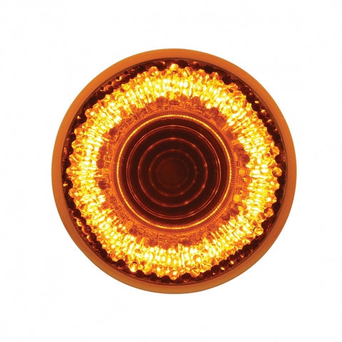 """Mirage"" Amber 2"" round 9 diode LED marker light"