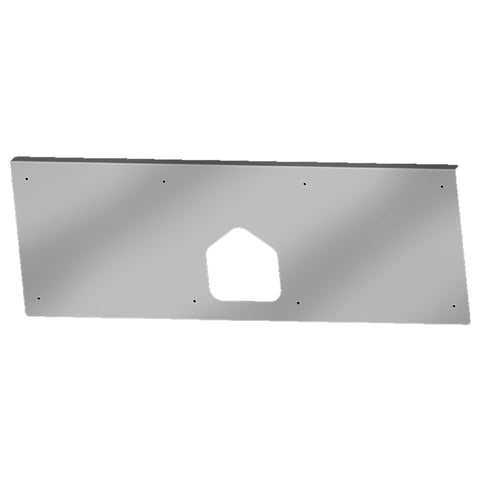 "Peterbilt 379 1987-1993 stainless steel tool box cover ONLY - 30"" x 9-3/4"""