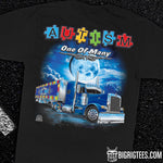 Autism - One of Many trucker tee shirt