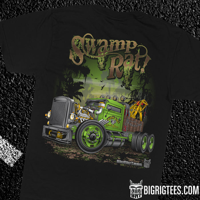 Swamp Rat trucker tee shirt