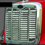 Peterbilt 384/386 stainless steel replacement grill w/15 louvers