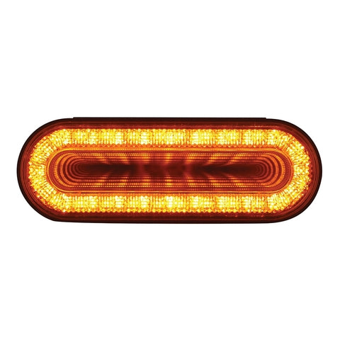 """Mirage"" Amber oval 24 diode LED park/turn/clearance light"
