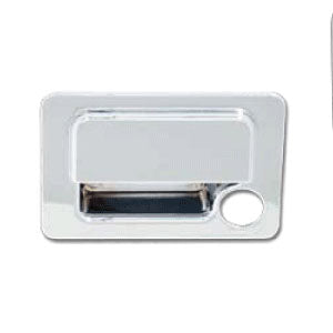 Peterbilt 379/387/389 2006+ chrome plastic glove box latch cover