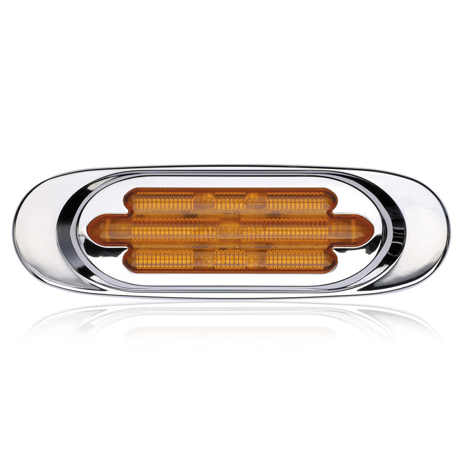 Maxxima amber millennium-style 13 diode LED marker light