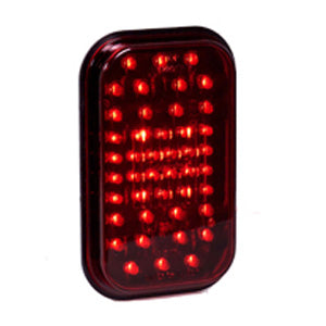 Maxxima red rectangular 44 diode LED stop/turn/tail light