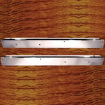 Rockwood Peterbilt 2002-2005 chrome door window sills - PAIR