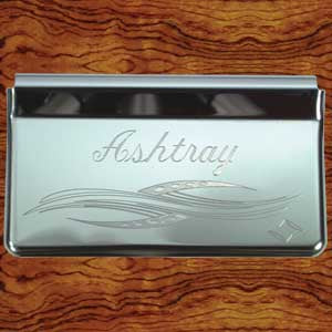 Rockwood Peterbilt -2005 stainless steel ashtray cover w/flourish