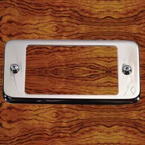 "Rockwood Peterbilt -2000 stainless steel ""A"" panel pocket cover"