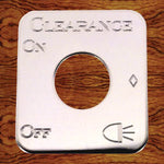 Rockwood Kenworth stainless steel switch plate