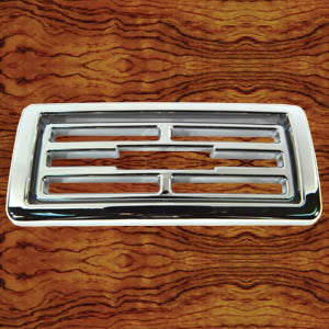 Rockwood Kenworth 2002-2005 chrome plastic dash vent cover - Center