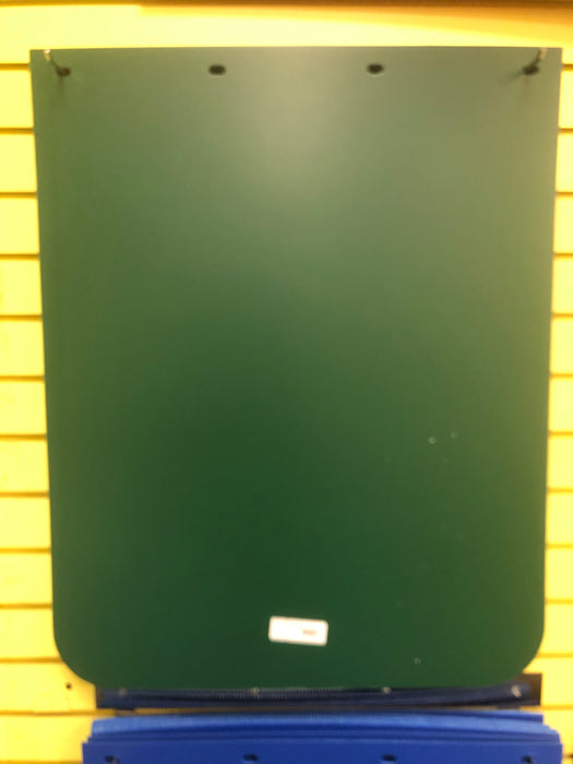 "24"" x 30"" bright colored plastic mudflap - Green"