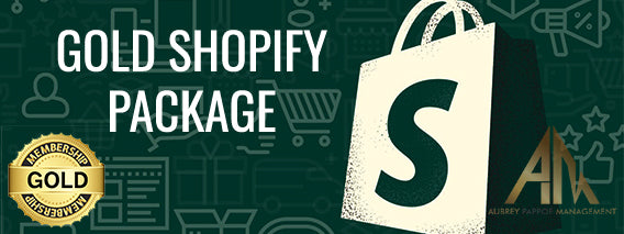 Gold Shopify Package