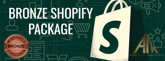 Bronze Shopify Package