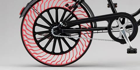 Bridgestone Made Flat Protection Airless Tires For Your Bike