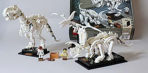 Feel Yourself At The Museum With Dinosaur Fossils Legos